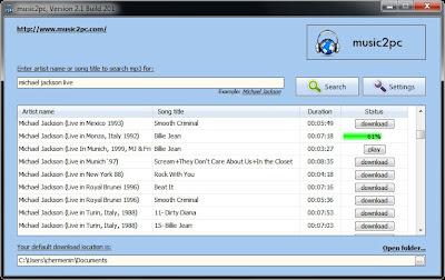 برنامج تحميل MP3