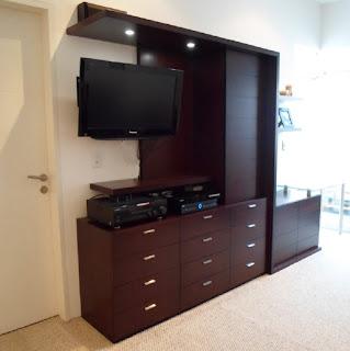 Dak dise o de interiores for Closets modernos con television