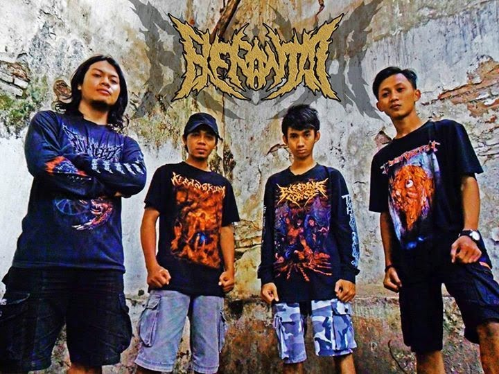 Berantai Band Death Metal Pasuruan - Jawa Timur Foto Personil Logo Wallpaper