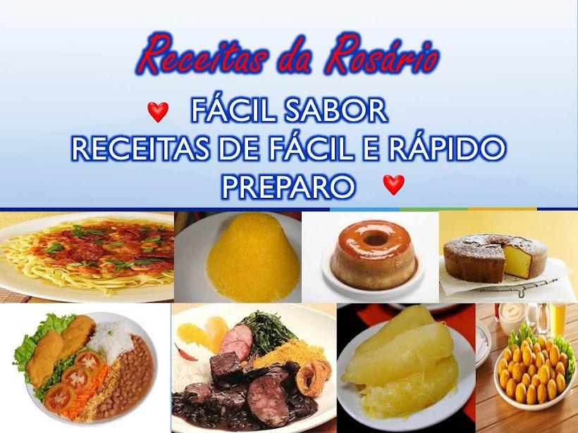 RECEITAS DA ROSÁRIO