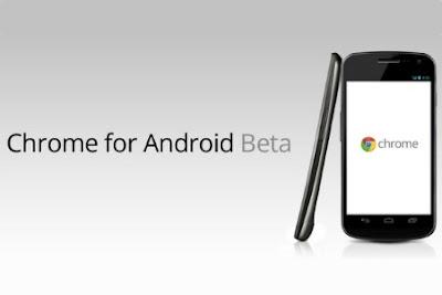 Chrome Android Versi Beta