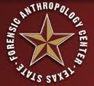 Logo for The Forensic Anthropology Center.