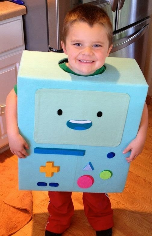 Adventure Time Kid Halloween Costume BMO