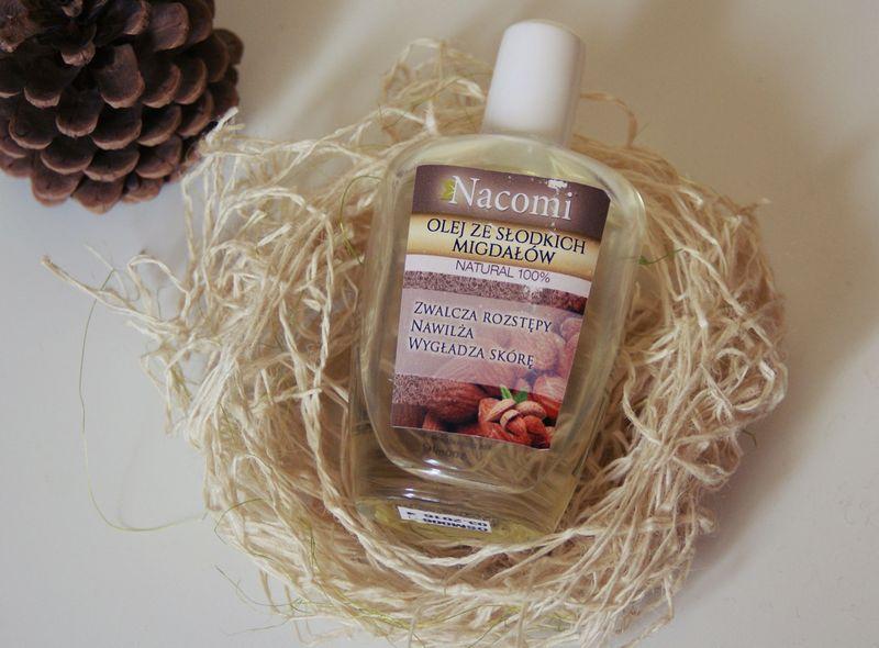 Olejek ze słodkich migdałów Nacomi/ Spa&fit