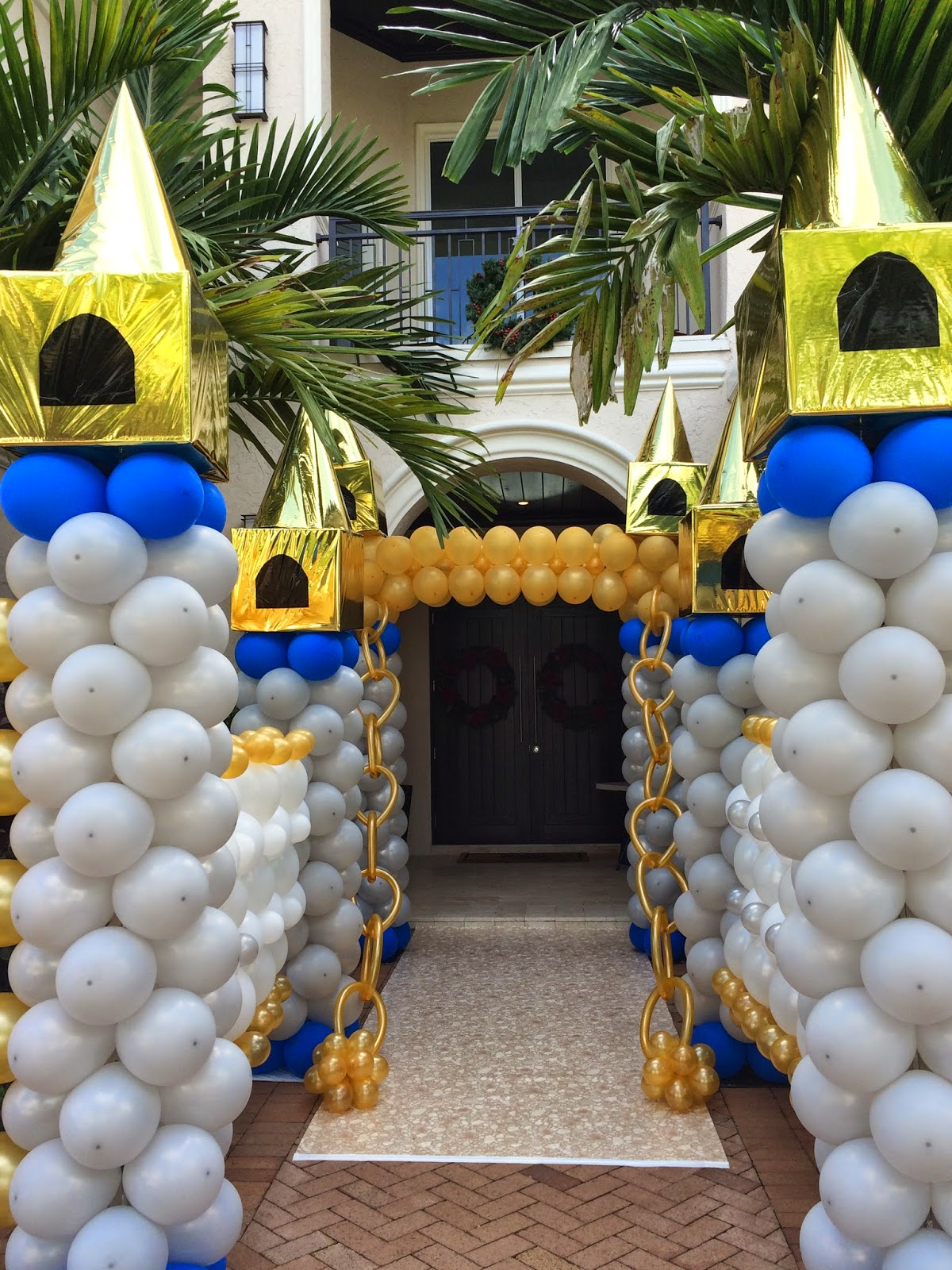 Dreamark events blog first birthday party decorations for Balloon decoration for birthday party