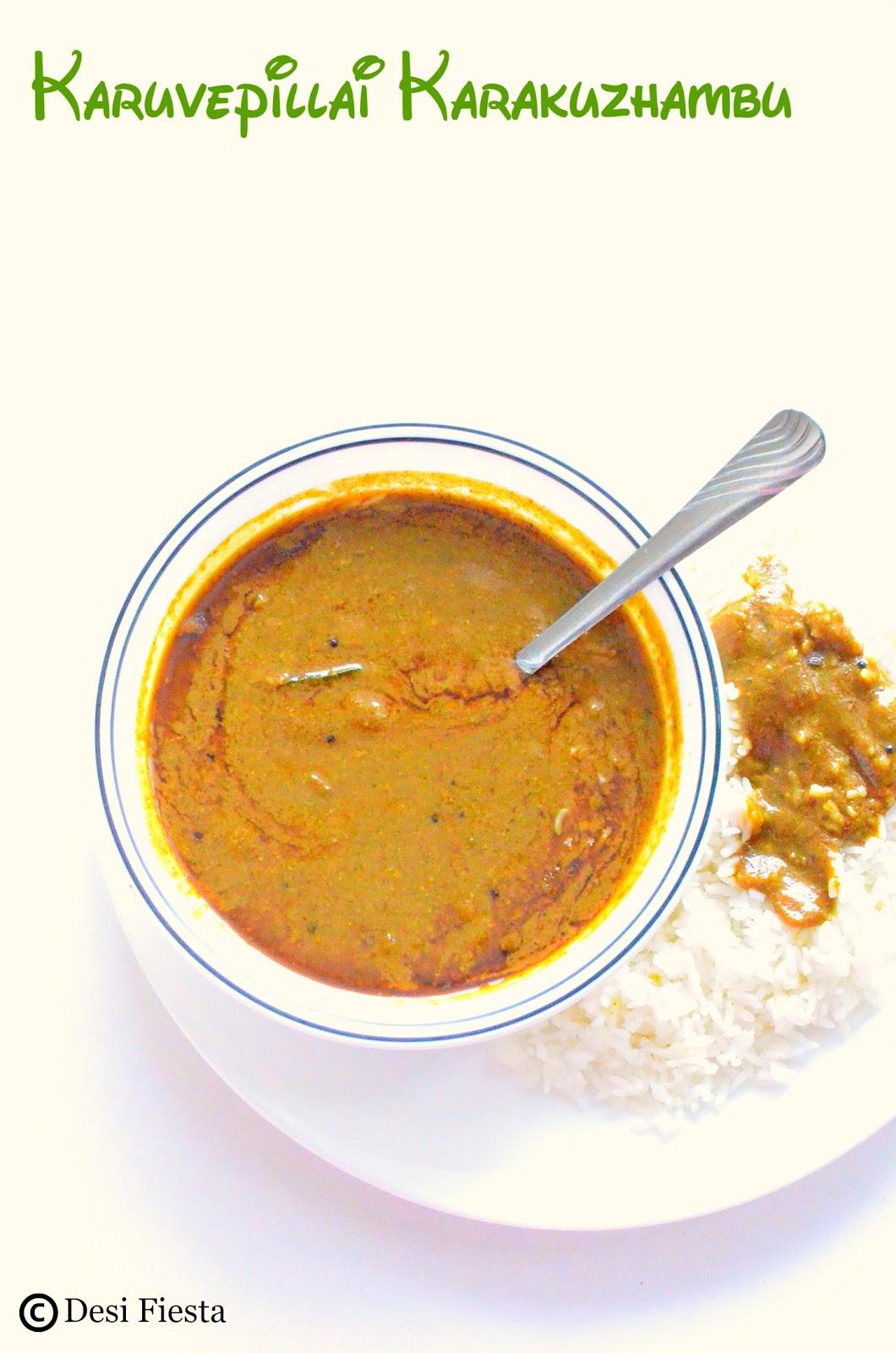 Curry leaves Gravy Recipe