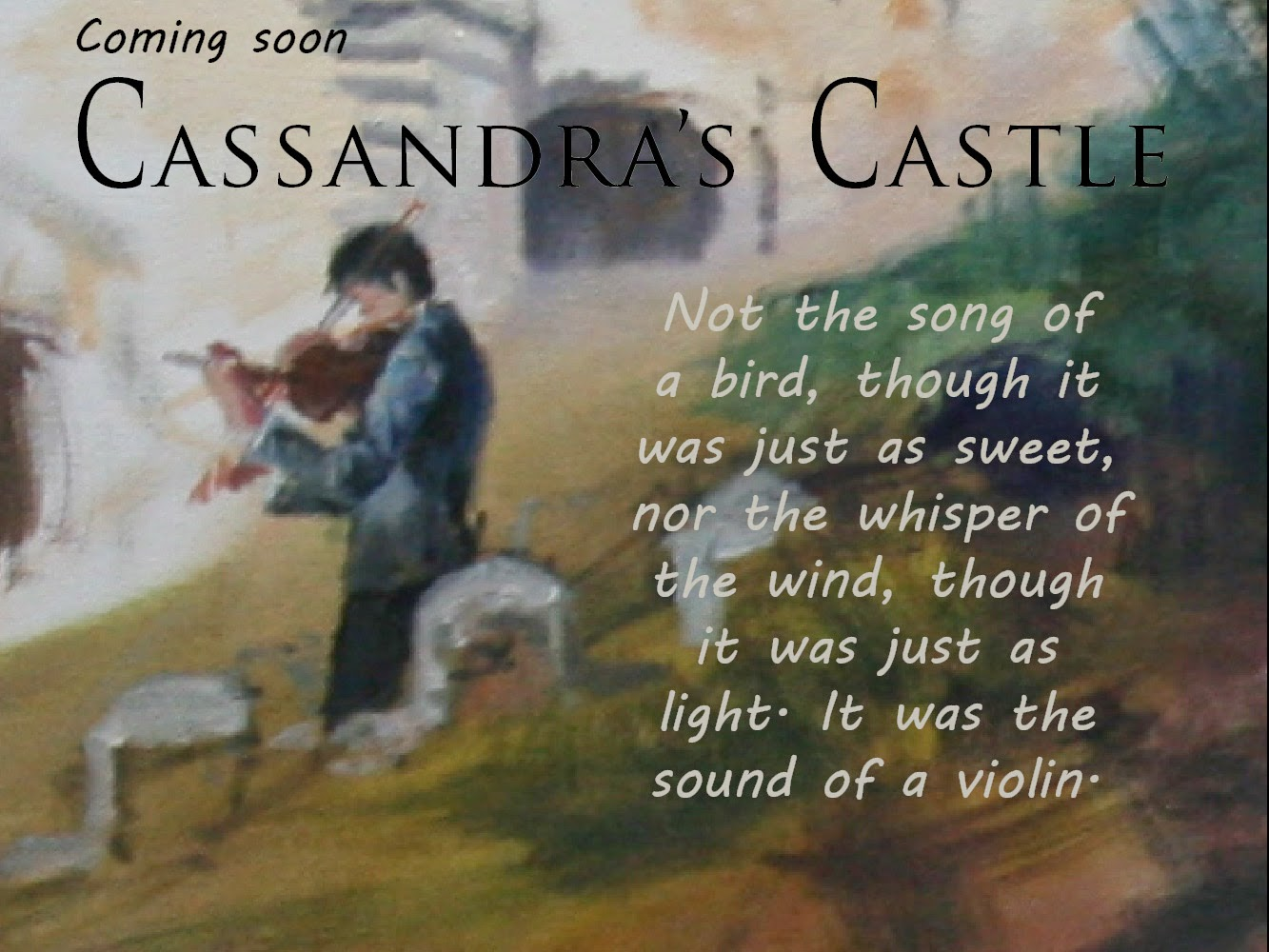 Book To Film: Cassandra's Castle, www.writersandauthors.info