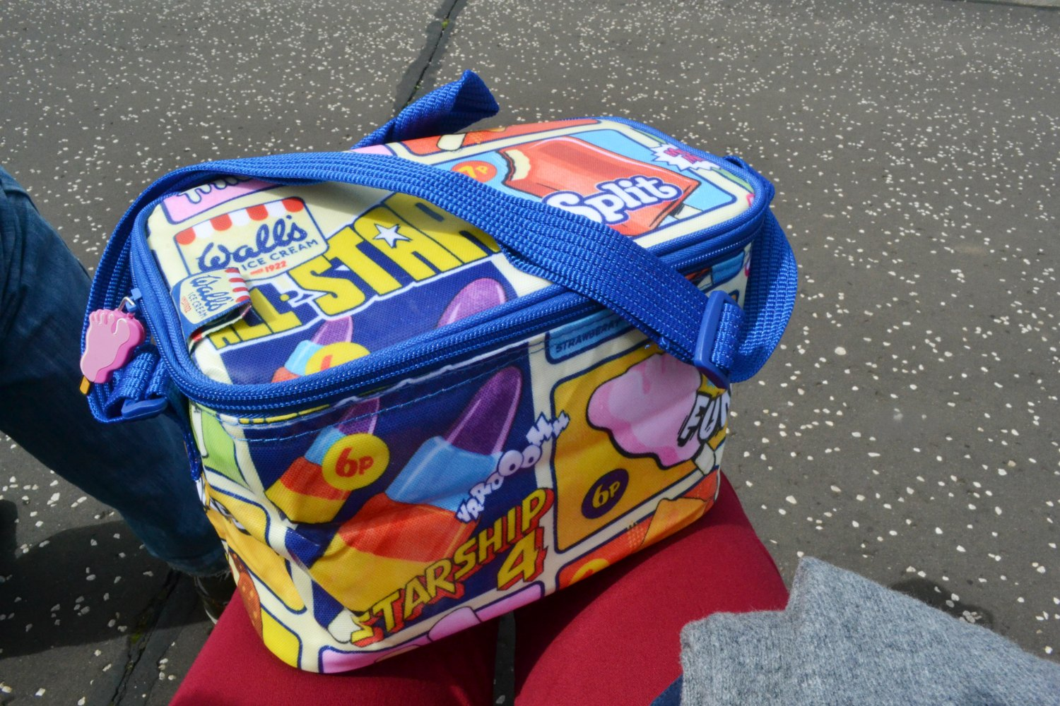 walls cool bag retro packed lunch beach