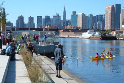 Urban Gadabout: Walking the Newtown Creek Nature Walk with its designer, George Trakas