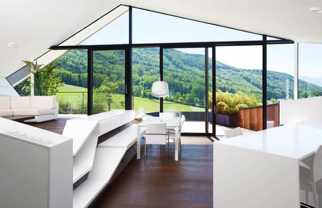 desain rumah hijau dengan interior modern desain rumah