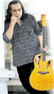 Gambar Ramli Sarip Papa Rock Malaysia Artis Berpesta Menuai Padi