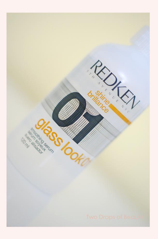 дополнительное средство для блеска волос Redken, glass look 01