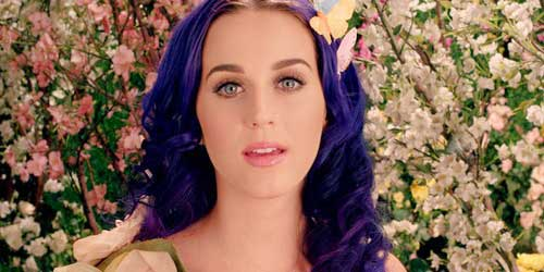 los maquillajes de katy perry en wide awake