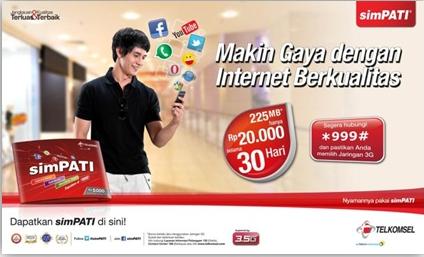 Harga Paket Internet Telkomsel Unlimited Termurah 2016