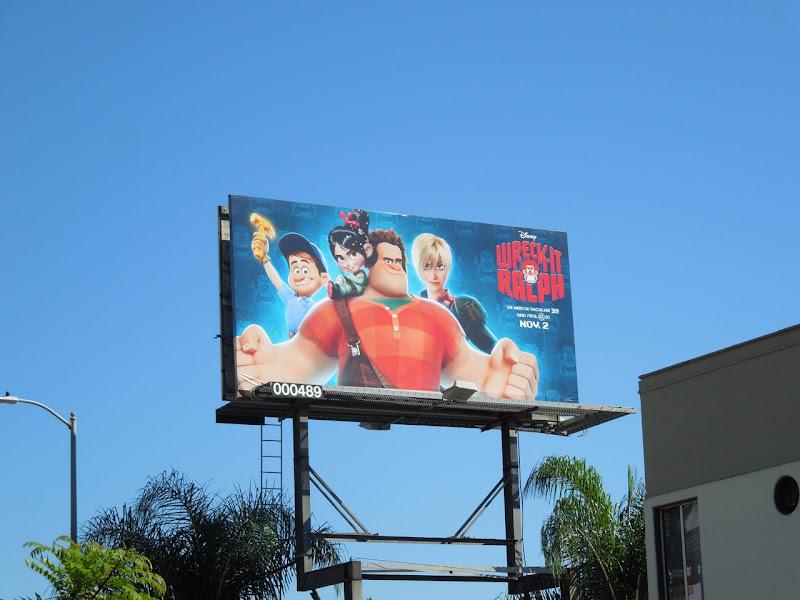 Wreck It Ralph billboard