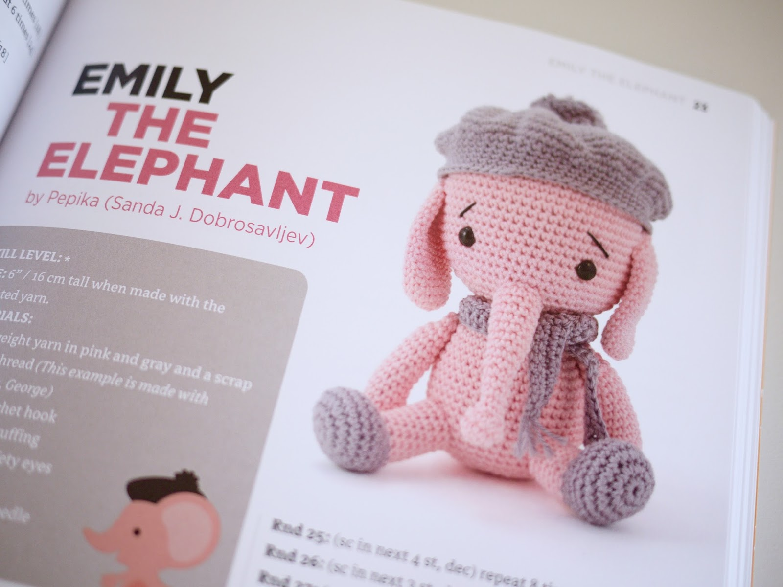 Zoomigurumi 4 Emily The Elephant