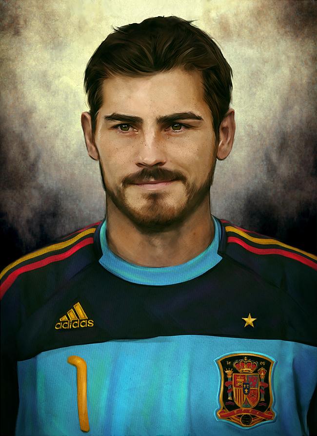 Iker Casillas: Los 10 futbolistas más guapos y sexys