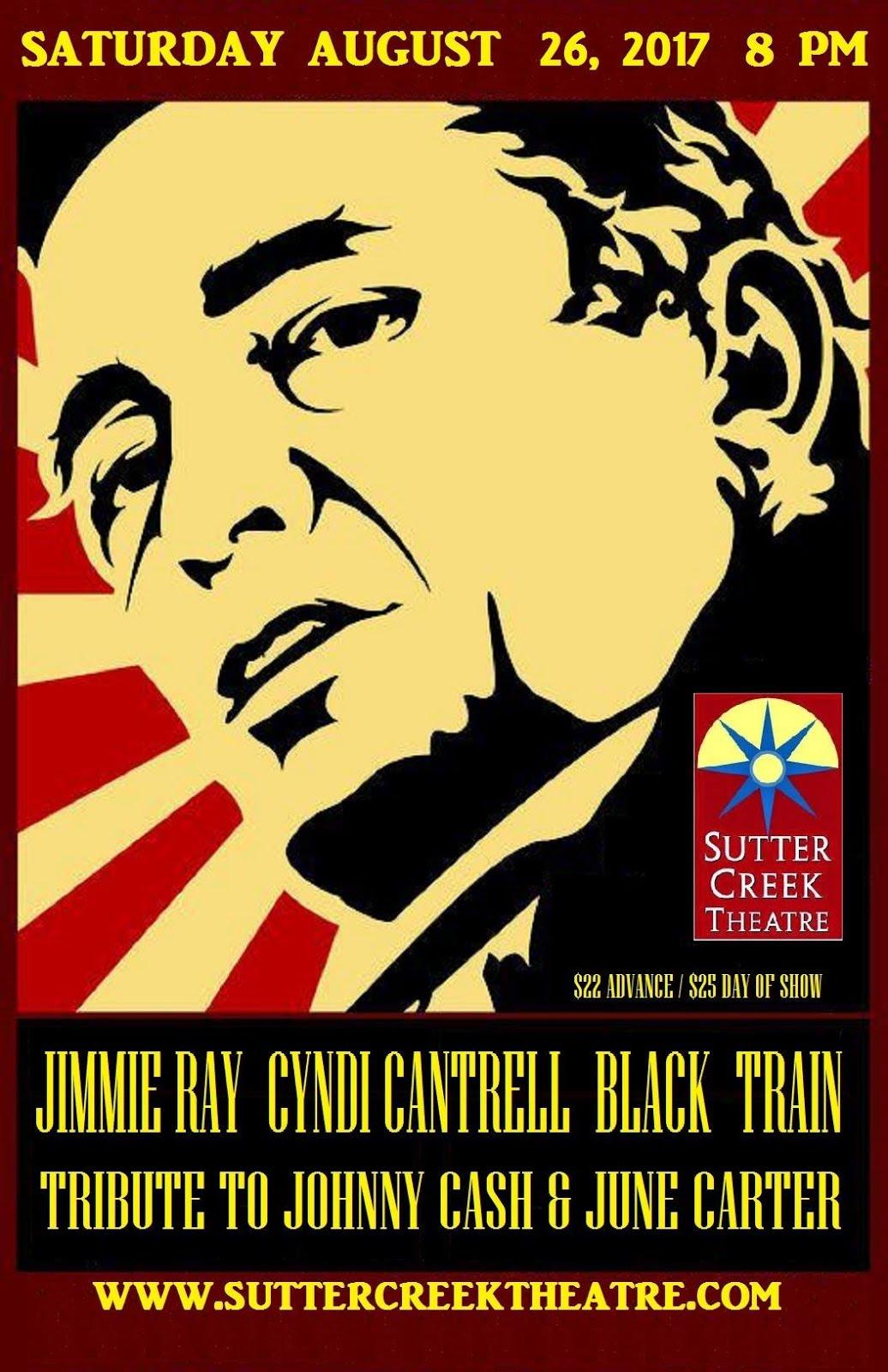 Black Train: Tribute to Johnny Cash & June Carter - Sat Aug 26