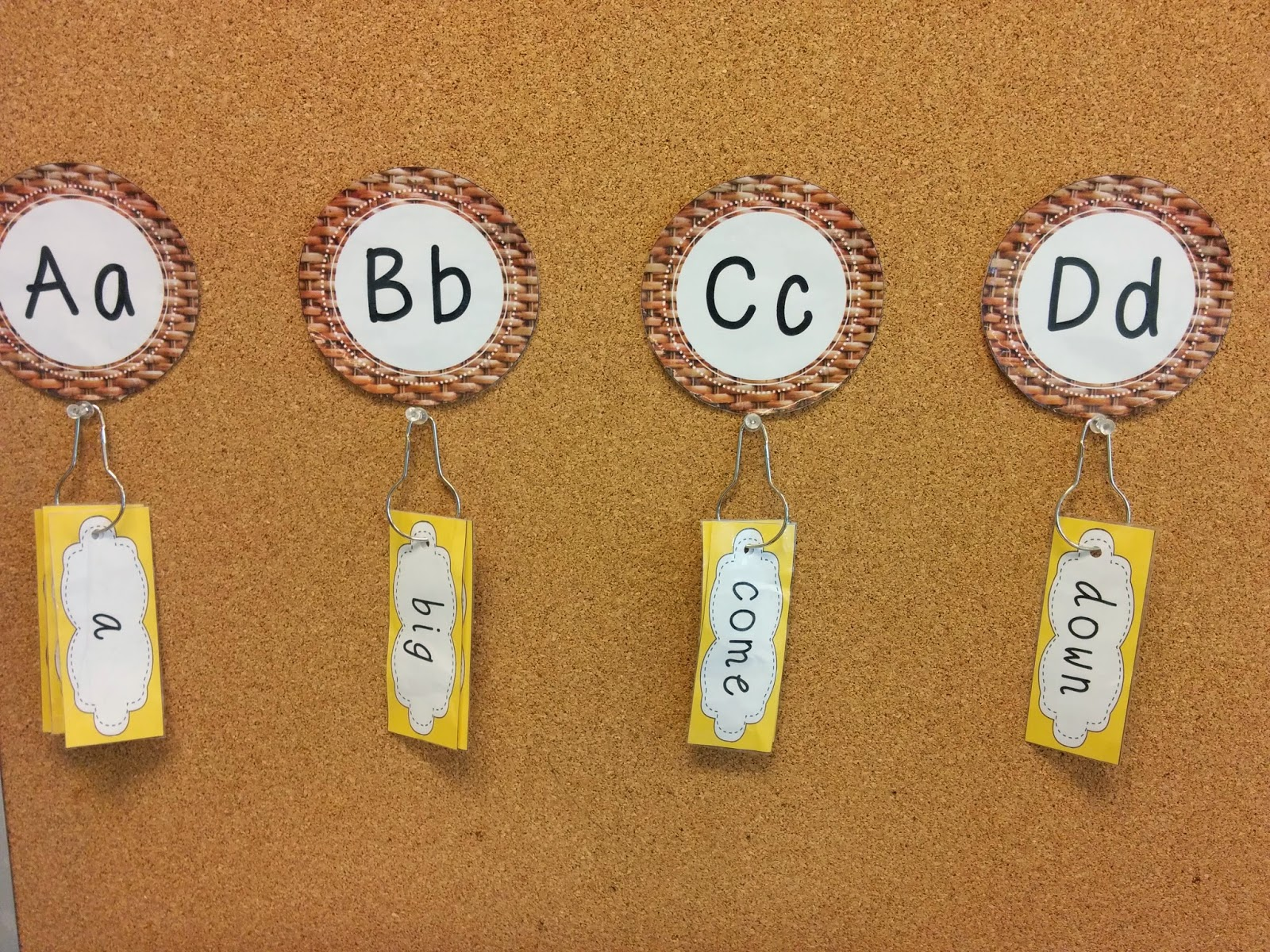 Natural-themed wicker Word Wall letters (and digraphs) to go with your Reggio Emilia-inspired room. http://www.teacherspayteachers.com/Product/Word-Wall-Headers-Wicker-Texture-2-Upper-and-Lowercase-Letters-Digraphs-1414567