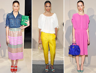 Spring and Summer Trends 2012 - Indian Fashion Trends