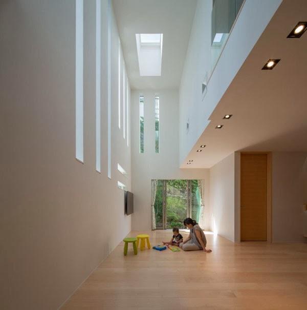 Casas minimalistas y modernas casa minimalista en japon for Casa minimalista japon