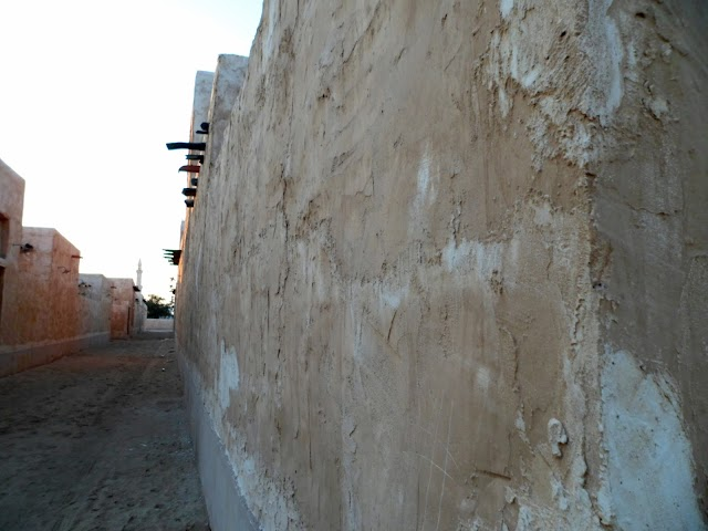 Old Building at Al Wakra Beach Port Historic architecture