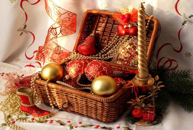 Beautiful merry christmas gift photos