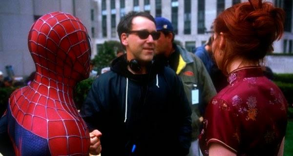 Sam Raimi rodaje Spider-Man