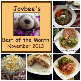 Best of the Month November 2013:  A review of my most popular blog posts from November.