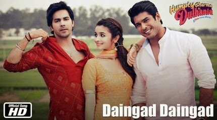 Daingad Daingad - Humpty Sharma Ki Dulhania (2014) HD Music Video Watch Online