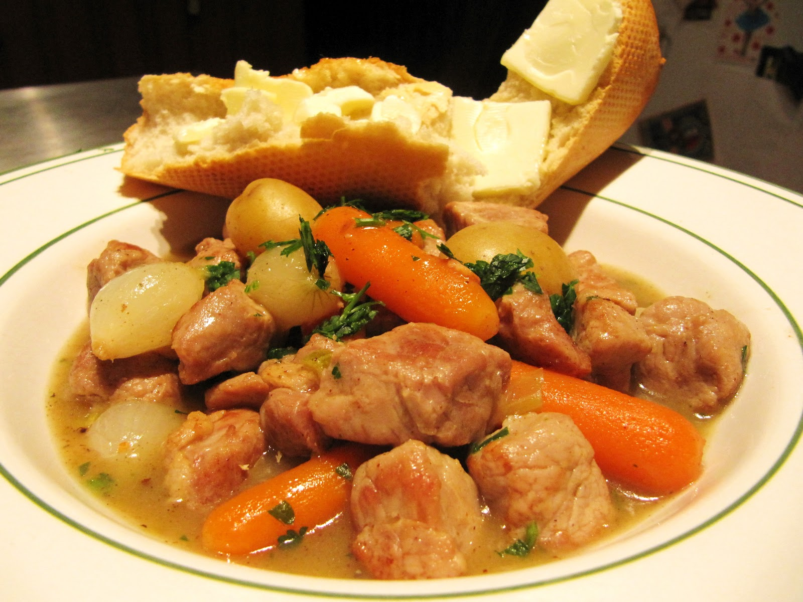how to cook pork stew