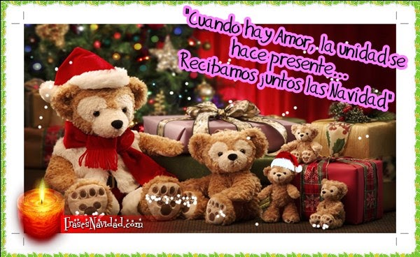 La magia natural de la navidad- postales navideñas
