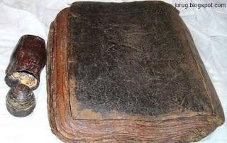 Berita terbaru Foto Penemuan kitab Injil Barnabas Asli tanggapan