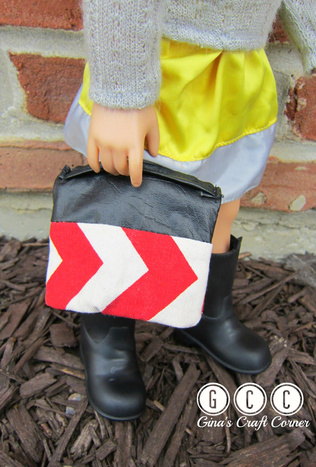 Couture Fold-Over Bag for American Girl Doll