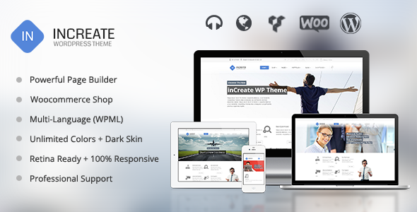 inCreate - Responsive MultiPurpose WordPress Theme