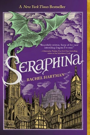 Review of Seraphina by Rachel Hartman: In this book, dragons are big and mean, but also fucking SMART and ruled by logic. And they can shrink down into human shapes.