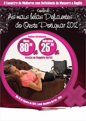 Divulgação do II Encontro de Mulheres com Deficiência