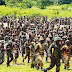 227 soldiers serving in the North Eastern zone of Nigeria have protested their alleged dismissal