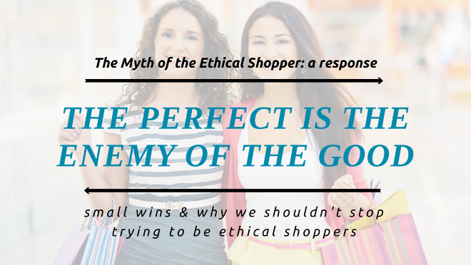 the myth of the ethical shopper response