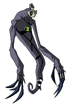 Dried Mango: Aliens Introduced in Ben 10