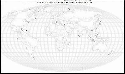 Mapamundi, seterra, Mapa de la ubicacion de las Islas en el mapamundi, blanco y negro