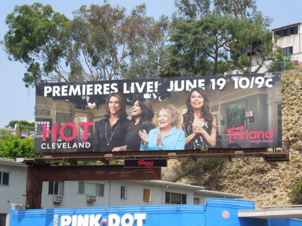 Hot in Cleveland season 5 live premiere billboard