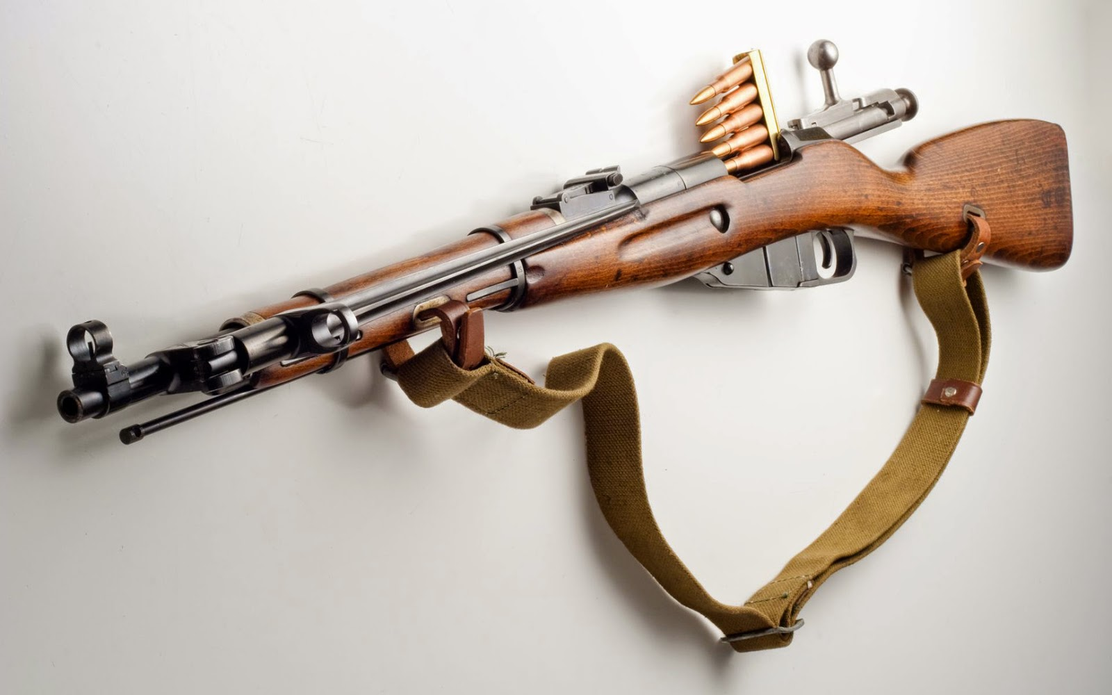 Mosin Nagant rifle HD wallpaper
