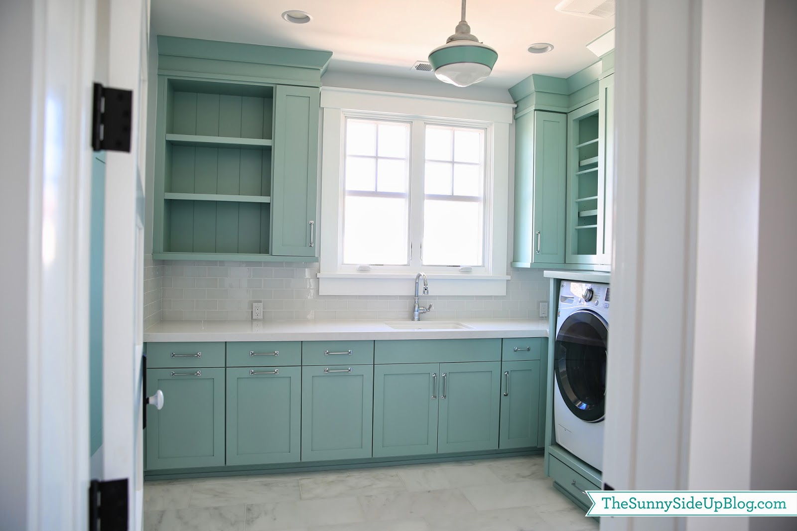 Modern laundry room paint colors