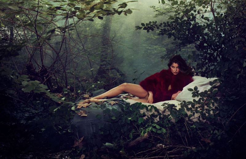 via fashioned by love | Laetitia Casta in Elle France July 2011 (photography: Michelangelo di Battista)