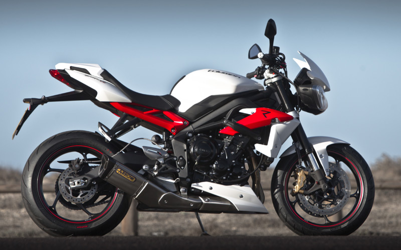 latest motorbike 2013 triumph street triple r show your motorcycle s muscle. Black Bedroom Furniture Sets. Home Design Ideas