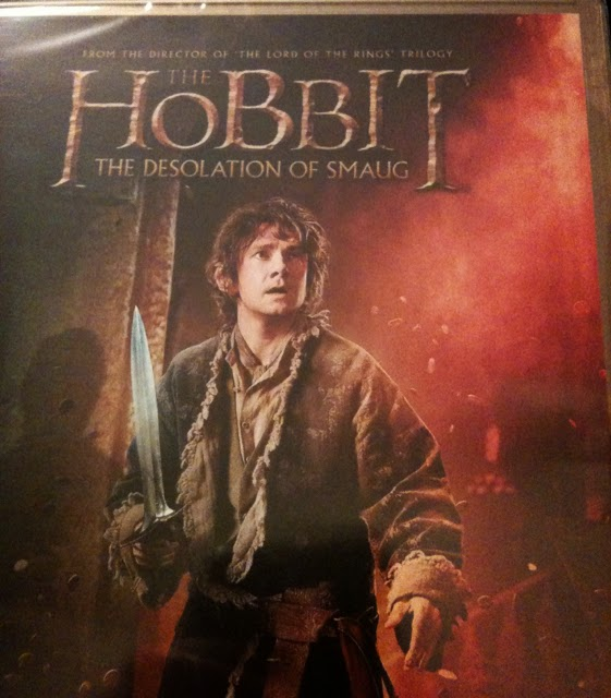 Hobbit Desolation of Smaug DVD