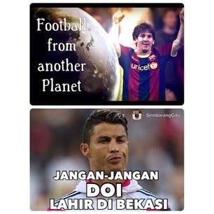 Gambar Meme Bekasi Lucu Lionel Messi dari Bekasi Trending Twitter