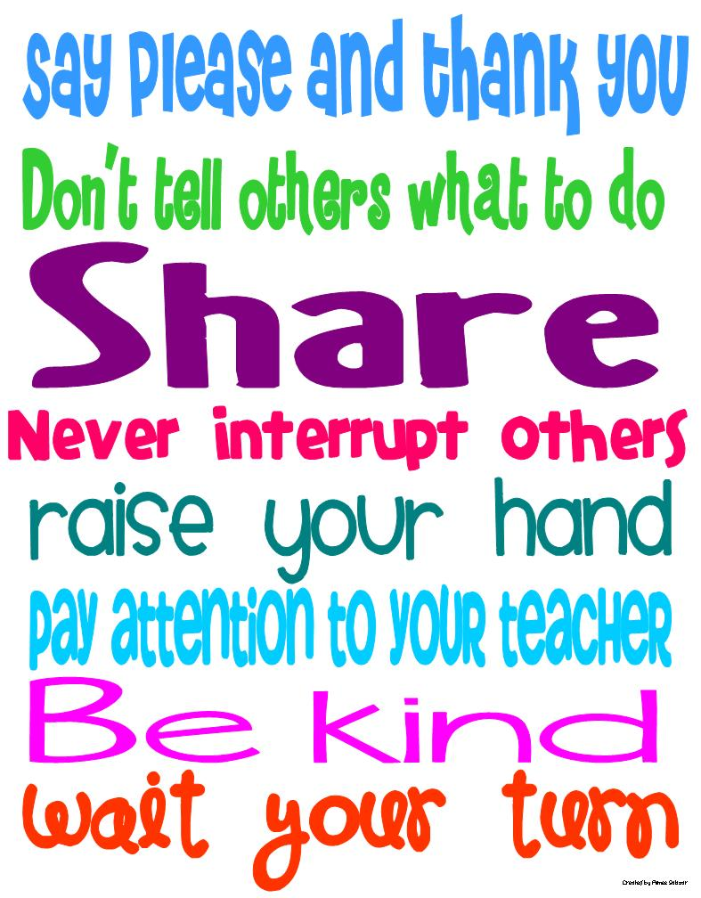 classroom manners Free printables for your classroom rules display board a printable banner for your good manners classroom display board preview & download.