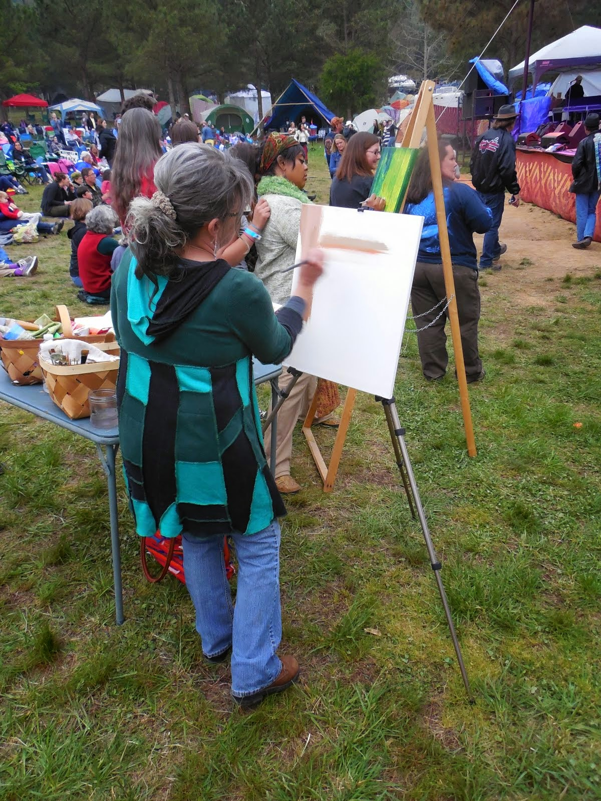 Painting to Live Music